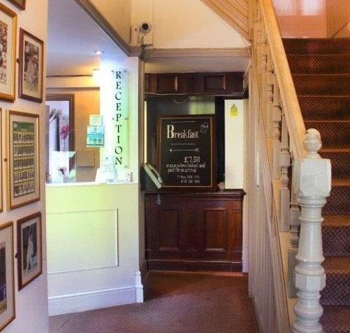boundary hotel reception