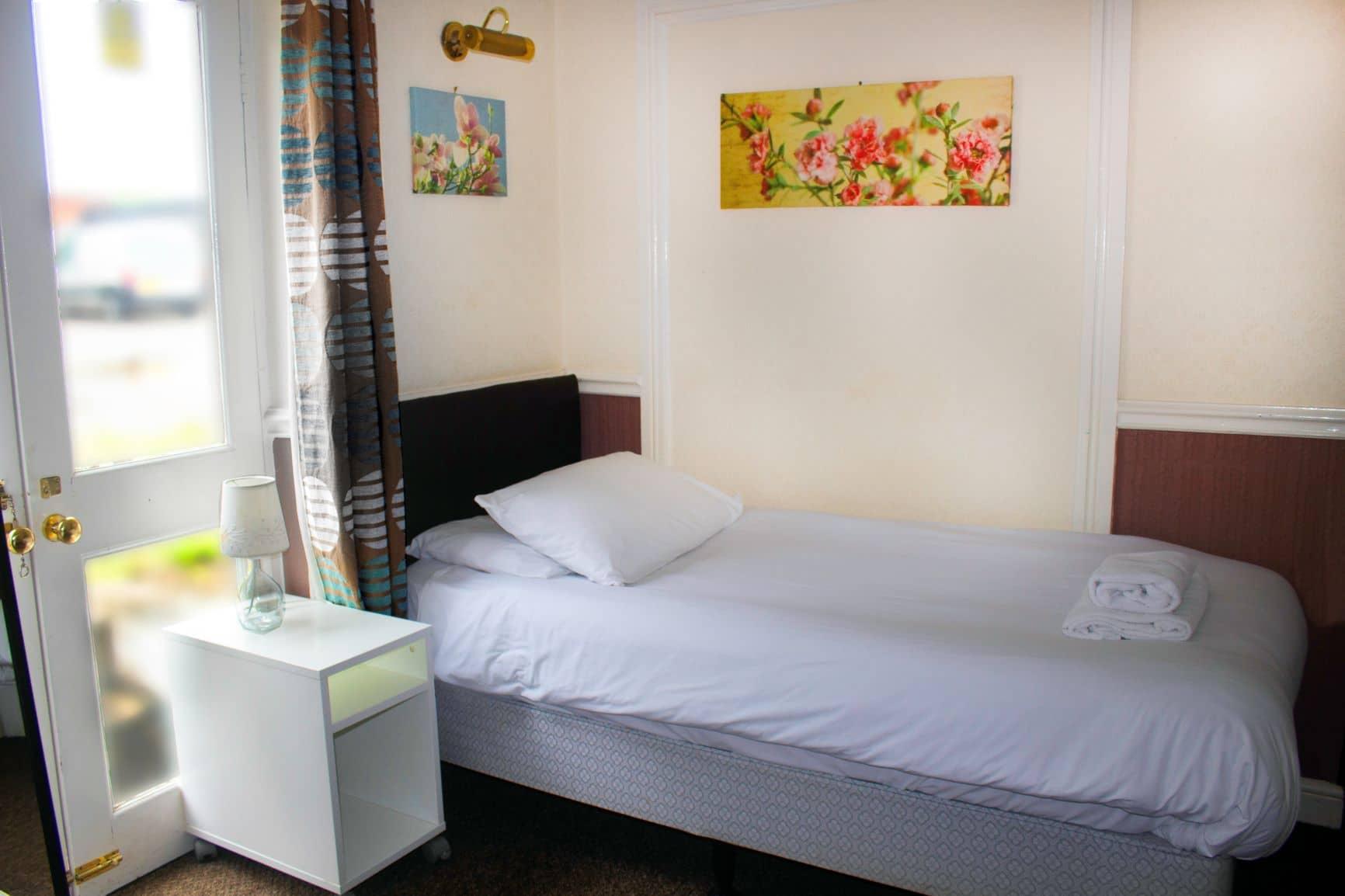 single hotel room