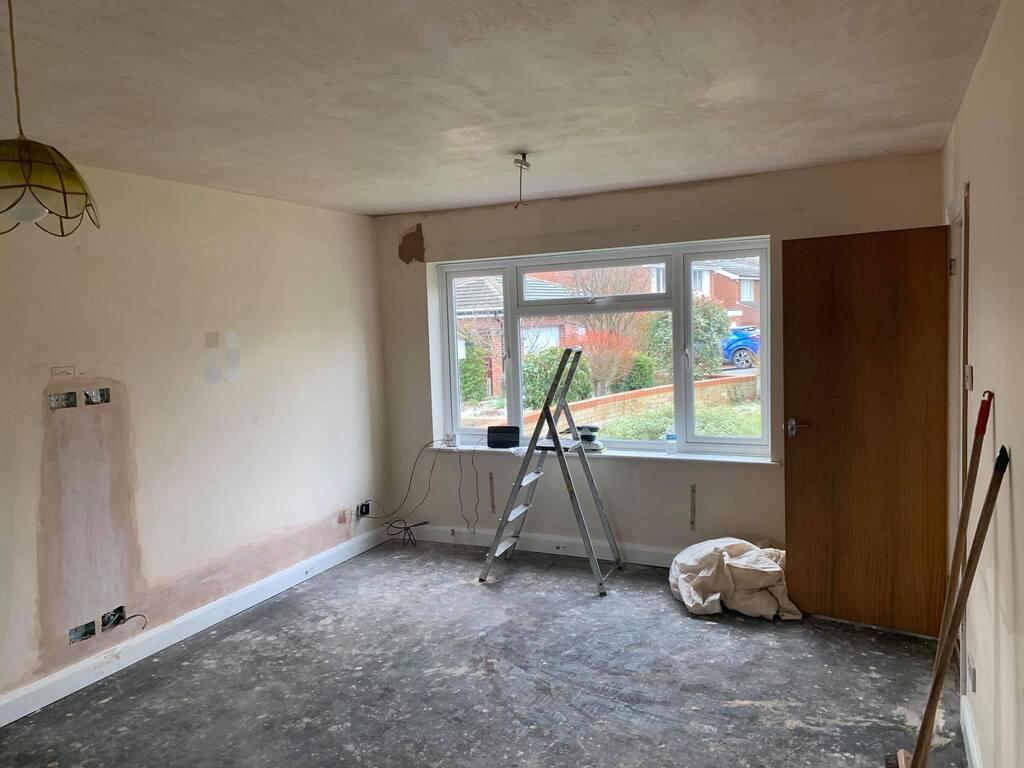 living room painting in buckinghamshire