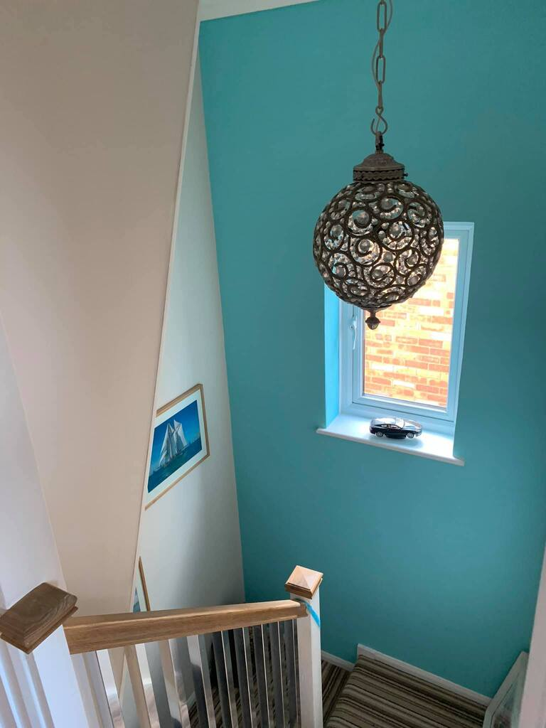 stairs painting in marlow