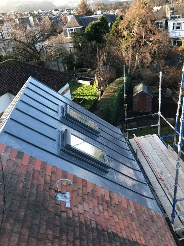 single ply roofing with window