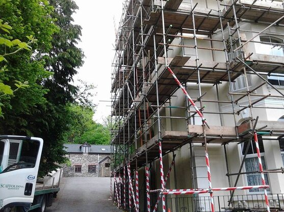 scaffolding hire plymouth
