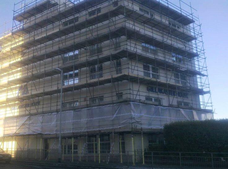 commercial scaffolding devon