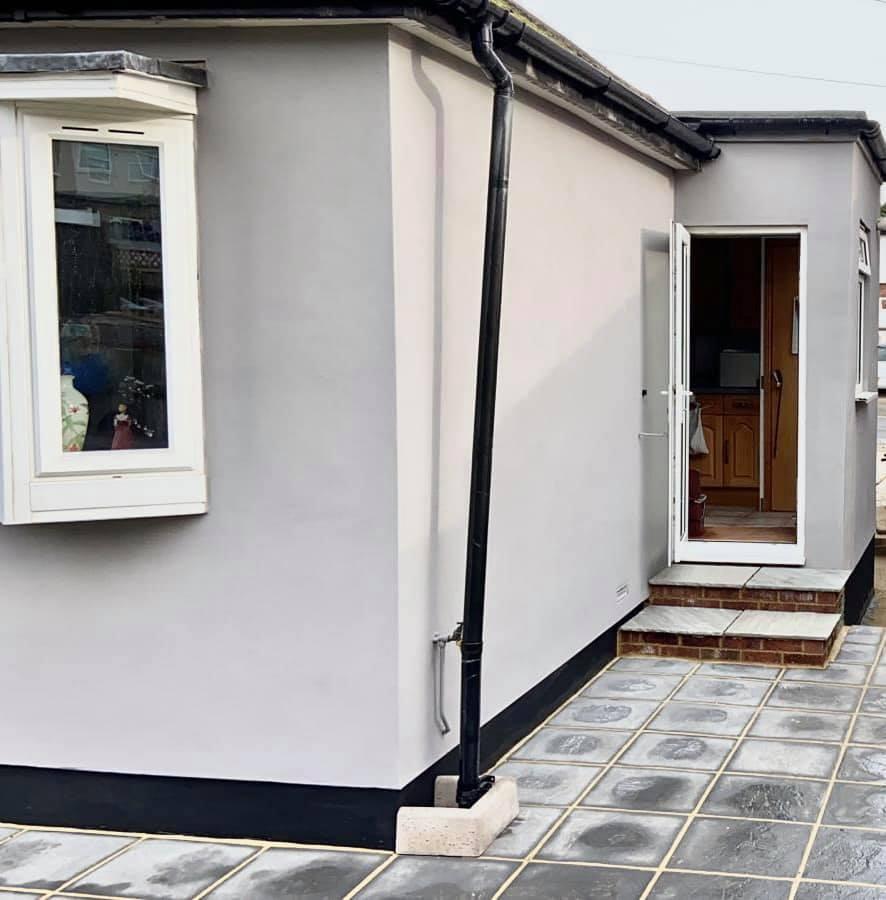 exterior rendering in bexleyheath